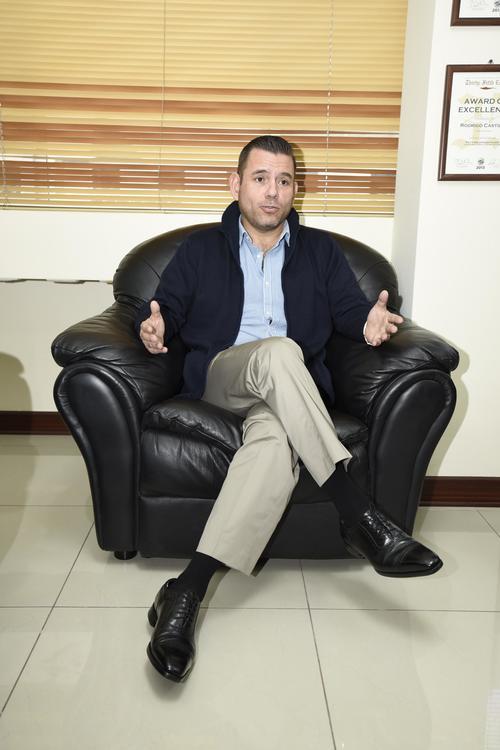 Manuel Baldizón se dedicará a sus empresas y negocios.  (Foto:  Nuestro Diario)