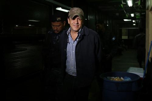 Otro de los capturados es Bodgan Armando Aguirre Palencia, quien ya se encuentra en Torre de Tribunales. (Foto: Alejandro Balán/Soy502)