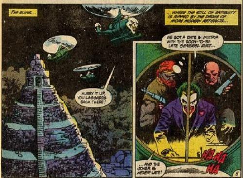 El Guason controla las ruinas mayas con el fin de apoderarse del país centroamericano. (Foto: DC Comics)