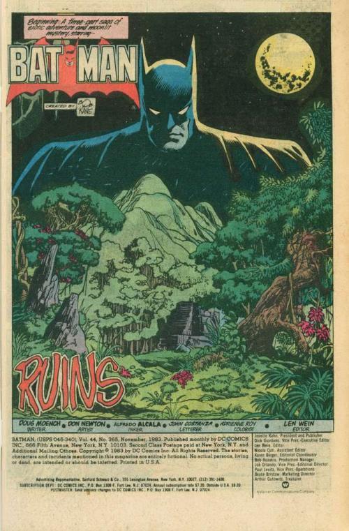 La selva petenera aparece en la historia. (Foto: DC Comics)