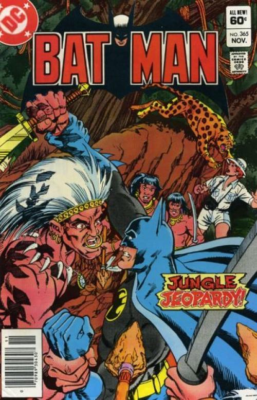 Portada del comic donde batman lucha en Guatemala. (Foto: DC Comics)