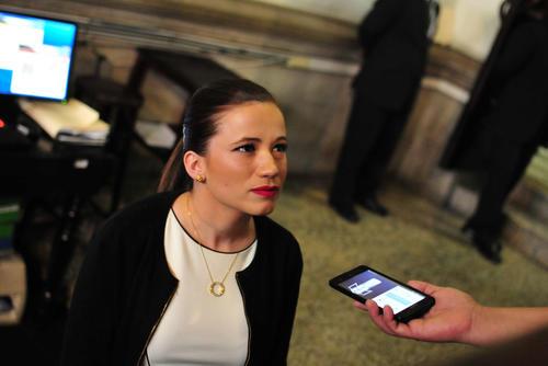 La diputada tomó posesión de su curul la semana pasada y 24 horas después renunció, según ella, por difamación de los medios de comunicación. (Foto: Alejandro Balan/Soy502)
