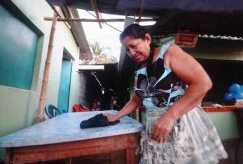 La madre del náufrago espera el regreso a su casa después de 15 años. Foto:LaPrensaGráfica/Soy502