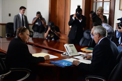 La abogada tiene trayectoria de trabajo en el Ministerio Público. (Foto: Esteban Biba/Soy502)