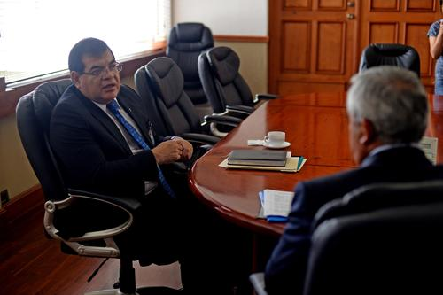 Actualmente Ronny López es fiscal contra el Crimen Organizado. (Foto: Esteban Biba/Soy502)