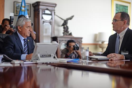 El abogado fue quien creó las Fuerzas de Tarea de Investigación junto a su equipo en el Ministerio de Gobernación. (Foto: Esteban Biba/Soy502)