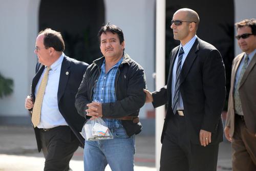 Juan Ortíz Chamalé fue extraditado a Estados Unidos el 22 de mayo de 2014. (Foto: Archivo/Soy502)