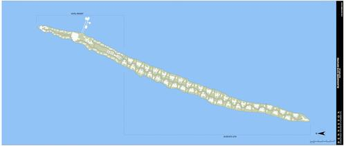 Estos son los planos del Blackadore Caye, A Restorative Island. (Foto: businessinsider.com)