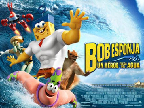 Bob Esponja: Un héroe fuera del agua es una película animada estadounidense basada en la serie de televisión de Nickelodeon Bob Esponja, estrenada en 2015.