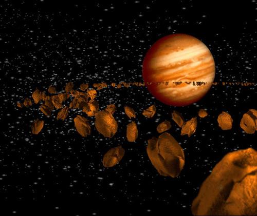En el bombardeo tardío la luna y otros cuerpos del sistema solar sufrieron impactos de asteroides. (Foto: Astro Física y Física)