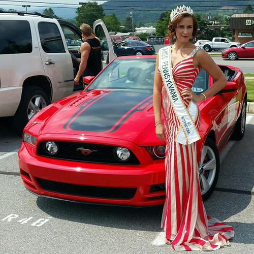 El título de Miss Pensilvania le fue retirado y la exreina de belleza permanece en un Centro Correccional. (Foto: www.pennlive.com)