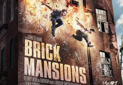 """Éste es el afiche de la película """"Brick Mansions""""."""