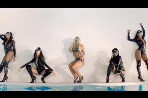 """Britney Spears también estenó el video """"Work bitch"""" esta semana."""