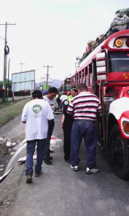 Durante el descanso de la Semana Santa se realizaron supervisiones a 1 mil 288 buses (Foto: PDH)