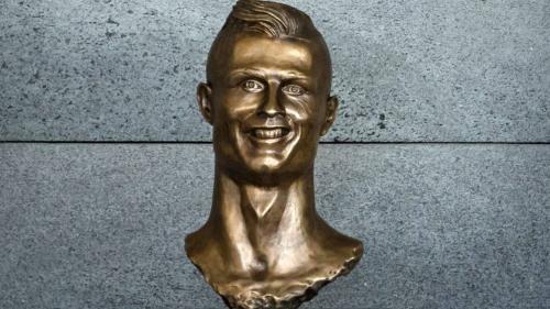 El escultor ya había hecho uno de Cristiano Ronaldo que sirvió para la creación de memes. (Foto: El Confidencial)