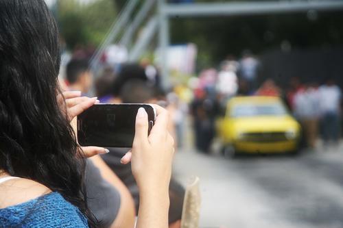 Decenas de guatemaltecos presenciaron la primera fecha del Campeonato Nacional de Aceleración. (Foto: César Pérez)