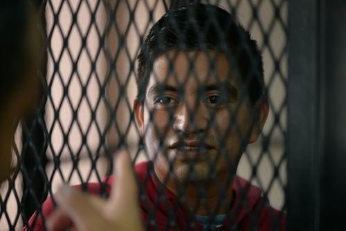 Francisco Antonio Pirir Cancinos se encuentra en prisión y en el inicio del juicio aceptó haber dado un puntapié a Kevin Díaz. (Foto: Wilder López/Soy502)