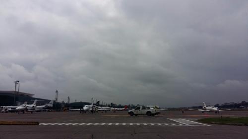 Vista del Aeropuerto Internacional La Aurora. (Foto: DGAC)