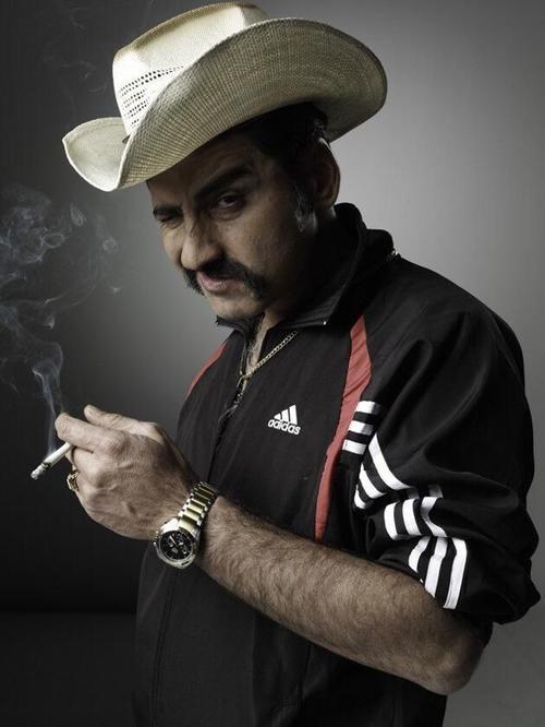 """""""El cabo"""" participó en la serie colombiana """"El Cartel de los Sapos"""", centrada en el narcotráfico de dicho país. (Foto: Pinterest)"""