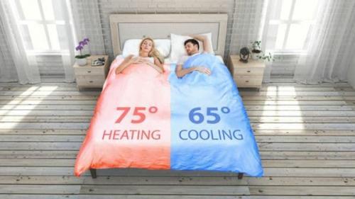 Según los creadores, la cama inteligente es cómoda y además ayuda a mantenerla limpia y fuera de gérmenes.