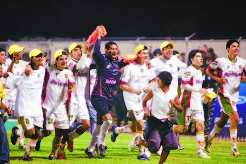 Jalapa ganó dos títulos de liga. El primero ante Suchi y el segundo ante Municipal.