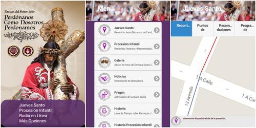 Dentro de la aplicación también puedes encontrar sus redes sociales: Twitter, Facebook e Instagram.