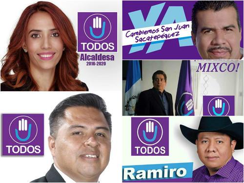 Estos son los candidatos que han sido intimidados para que no participen en el proceso electoral.