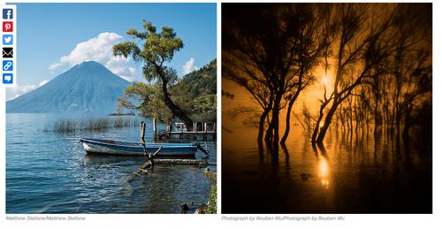 Estas fotografías también pretenden plasmar la belleza del lago de Atitlán. (Foto: Buzzfeed.com).