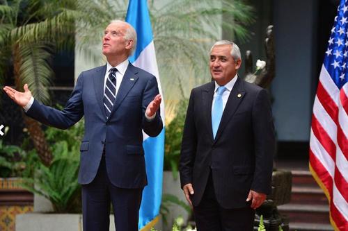 La visita del vicepresidente Biden a Guatemala coincidió con el discurso de Benjamín Netanyahu en la Cámara Alta en Washington. (Foto: Wilder López/Soy502).