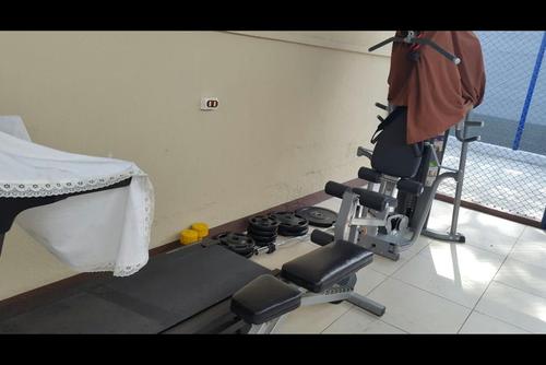 Vista de parte de los aparatos de ejercicios encontrados en una requisa en la cárcel Matamoros. (Foto: Archivo)