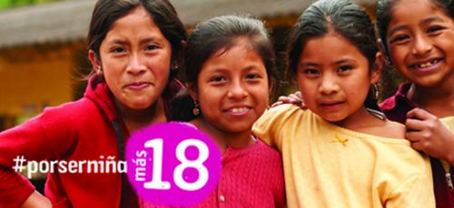 Campaña de apoyo llevada a cabo por la organización. (Foto: Plan Internacional)
