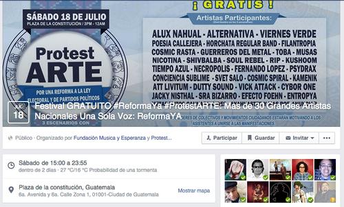 En el evento convocado en Facebook, cerca de 700 personas han confirmado su asistencia.