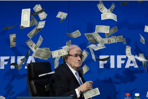 Las acusaciones de corrupción han llovido sobre la jerarquía de la Fifa.