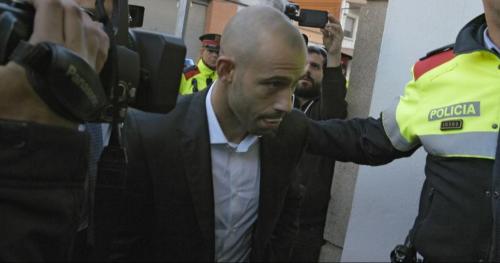 Mascherano se declaró culpable de delitos fiscales.