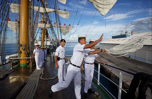 El buque echará sus cuerdas en Guatemala el próximo 7 de diciembre. (Foto: Colombia.co)