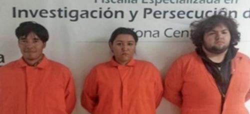 Los tres jóvenes capturados por el asesinato