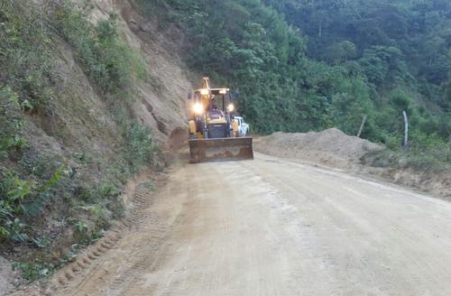 Ejército concluyó la construcción de 200 kilómetros de carretera. (Foto: Mindef)