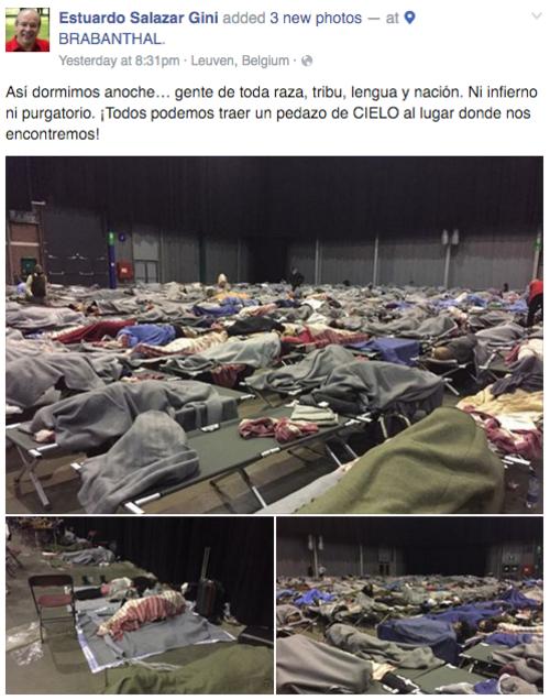 El guatemalteco narró su odisea en su muro de Facebook.