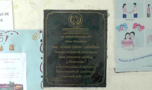 El centro ya existía pero en la época de Colom se fortaleció. (Foto: Alejandro Balán/Soy502)