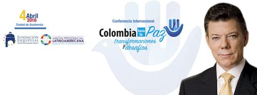 El mandatario dará una conferencia sobre el proceso de paz que vive su país. (Foto: Fundación Esquipulas)