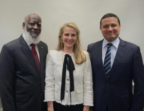 La OEA, a través de su enviada especial, intermediará en la resolución del conflicto. (Foto: Twitter)
