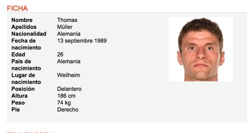 Tomado de www.soccerway.com