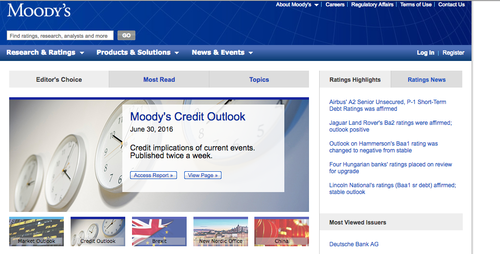 La firma publicó sus resultados anuales sobre Guatemala. (Foto: Moody's)