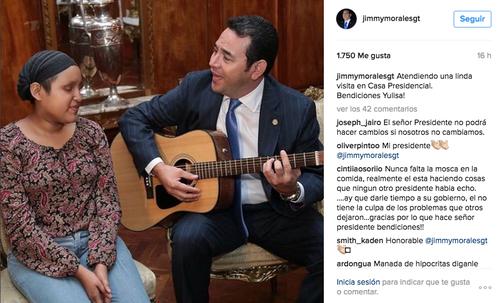 La última actualización de Morales en todas sus redes. (Foto: Instagram)