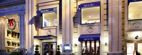 Fachada del restaurante Cafe du Parc en Washington. (Foto: Cafe du Parc)