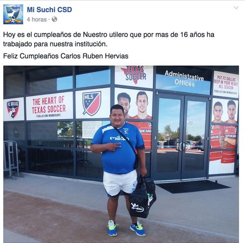 Una de las personas más queridas del plantel de Suchitepéquez.