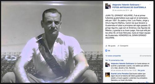 """El """"Gringo"""" Aguirre jugó en el América."""