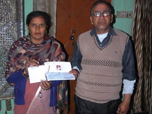Sheetal Yadav junto a su esposo solicitaron al Primer Ministro que les ayudara a solucionar el problema. (Foto: Thegenxtimes)