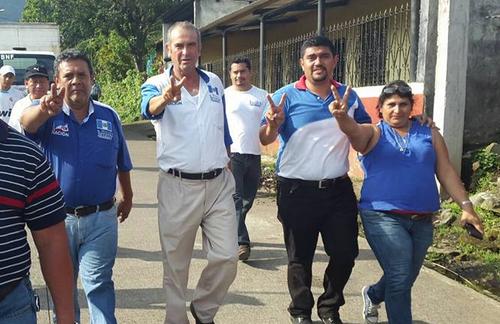 Cruz Claverí asegura que es el menos corrupto de todo el partido. (Foto: Facebook)