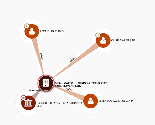 Los dos directores de Andavila Corp son directores de Morgan-Roche Mining & Transport Consultants Ltd.